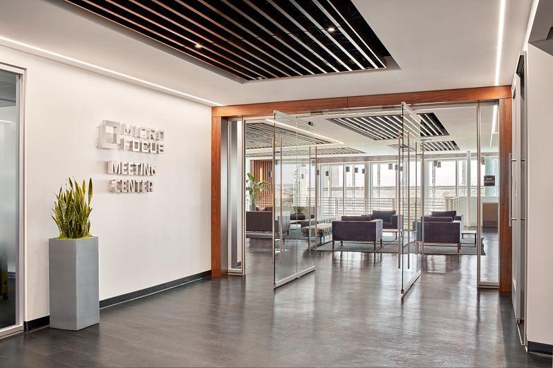 Micro Focus Santa Clara Meeting Center Entrance